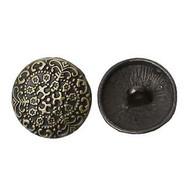 Shank Round Antique bronze Round Button