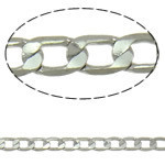 Silver Color Plated Cable Chain