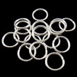 Silver Plated Closed Jump Ring