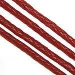 South Korean Wax Cord Red