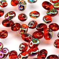 Superduo 2.5x5mm Hyacinth Vitrail Beads 22GM Bag