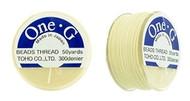 Toho One-G Thread 50 Yd Spl Cream
