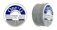 Toho One-G Thread 50 Yd Spl Lt Grey