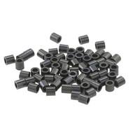 Tube Crimp 2mm Black Oxide Plated