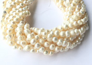 Genuine natural Potato Freshwater Pearl Beads