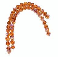 Czech Pressed Glass Beads Size: 10 mm