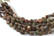 Fine Natural Rainforest agate Coin Shape Gemstone beads Beading Supplies