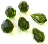 Drop Turmaline Preciosa Czech Crystal Beads
