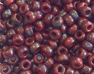 6/0 Japanese beads Trans Kelly Green Picasso Miyuki Glass Seed Beads -100grams