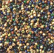 11/0 Natural Medley Picasso Miyuki Japanese Glass seed Beads-20Grams