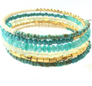 Cheerful Turquoise  Bracelet Kit By SBS
