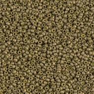 15/0 Japanese Matte Dark Olive Seed Beads