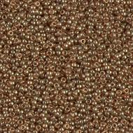 15/0 Japanese Miyuki Topaz Gold Luster Seed Beads
