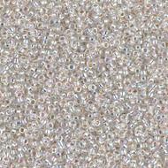 15/0 Japanese Miyuki Silverlined Crystal AB Seed Beads
