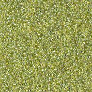 15/0 Japanese Miyuki Silver Lined Chartreuse AB Seed Beads