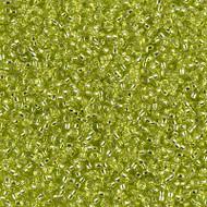 15/0 Japanese Miyuki Silver Lined Chartreuse Seed Beads