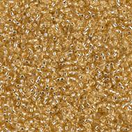 15/0 Japanese Miyuki Silverlined Gold Seed Beads