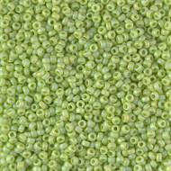 Japanese Miyuki Matte Opaque Chartreuse AB Glass Seed beads