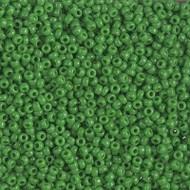 11/0 Japanese Miyuki Opaque Green Glass Seed beads