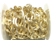 Nontarnish Light Gold cable Chain Oval unsoldered links- Beading Supplies