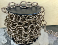 Aluminum Lt weight Bronze Cable unSoldered Chain links- Beading-Jewelry Supplies