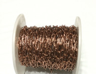 Antique Copper Cable Soldered Chain links- Beading Supplies