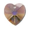 14mm Authentic Genuine Czech Preciosa Crystal Heart Clarite