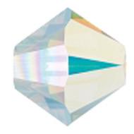 4mm Authentic Genuine Czech Preciosa Crystal Bicone Clear Opal12 beads