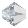 4mm Czech Preciosa Crystal Bicone Comet Argent Light 72 beads