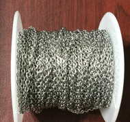 6 Feet Stainless Steel Cable Soldered Chain links- Beading Supplies