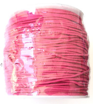 1.2mm Beading Hot Pink Round Elastic Stretchy Cord 70 Yards