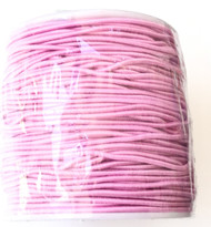 1.2mm Beading Rose Pink  Round Elastic Stretchy Cord 70 Yards