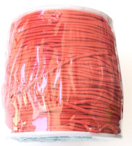 1.2mm Beading Fire Red Orange Round Elastic Stretchy Cord 70 Yards