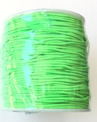1.2mm Beading Green Round Elastic Stretchy Cord 70 Yards
