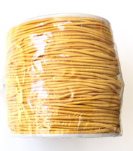 1.2mm Beading Wheat Tan Round Elastic Stretchy Cord 70 Yards