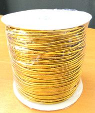 2mm Beading Gold Round Elastic Stretchy Cord 100 Yards
