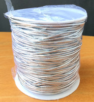 2mm Beading Silver Round Elastic Stretchy Cord 100 Yards