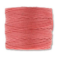 S-lon Bead Cord Chinese Coral 77 yards
