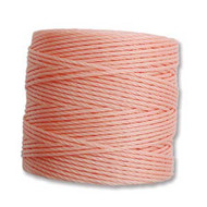 S-lon Bead Cord Coral Pink 77 yards