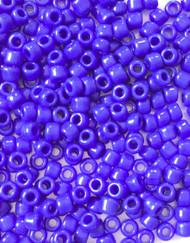 6/0 Miyuki Opaque Cobalt Blue Matte Seed Beads-50 Grams