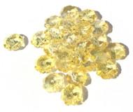 11mm Flower Margarita Candelight Orange Swarovski Crystal Beads