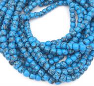 Natural Blue Turquoise Gemstone beads Stone