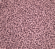 11/0 Round Opaque Lavender Seed Beads