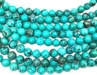 10 mm Turquoise round Gemstone beads