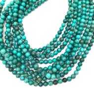 6 mm Turquoise round Gemstone beads