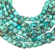 12x12 mm Turquoise square Gemstone beads