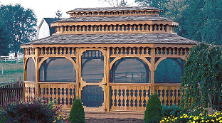 Luxcraft Wood Gazebo