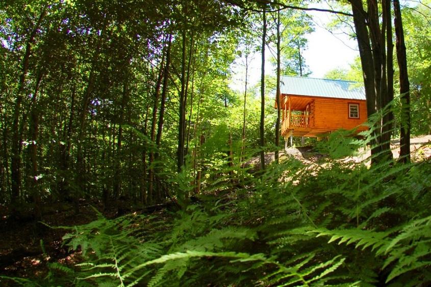 Amish Built Log Cabin to Quebec, Canada