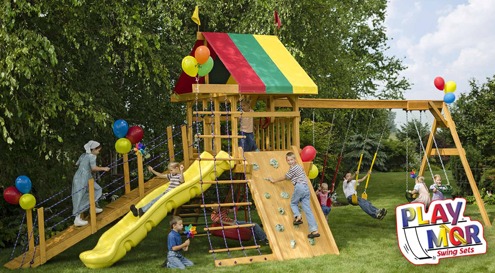 PlayMor Wood Playsets in Ohio