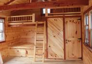 Bunk Bed & Closet/Bathroom